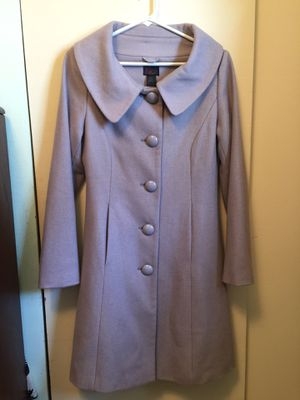Victoria's Secret Via Wool Coat -Lavender/Purple for Sale in Rockville, MD