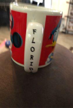 WALT DISNEY Applause FAB FIVE FLORIDA 12oz. Coffee Mug Cup Mickey Minnie Donald Thumbnail
