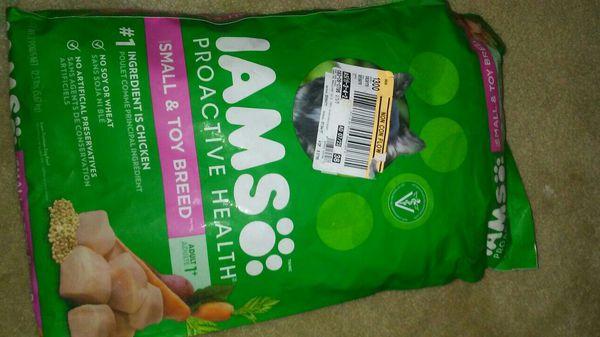 Iams Dog Food 12 5lbs Jacksonville Fl