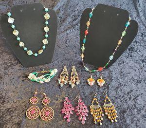 Photo Costume jewelry lot