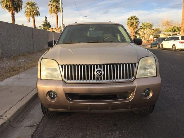 2004 Mercury Mountaineer For Sale In North Las Vegas  Nv