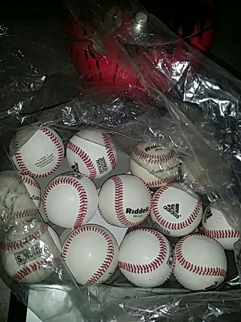 Brand new baseballs approved 4 little league tournaments (Riddell &  addidas) for Sale in Las Vegas, NV - OfferUp