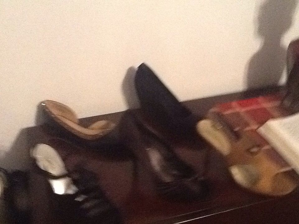 Ladies large size dress shoes
