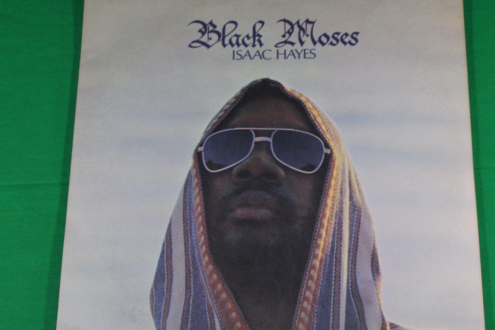 ISAAC HAYES BLACK MOSES Rare Double VINYL US LP Enterprise Dynaflex 2 Set