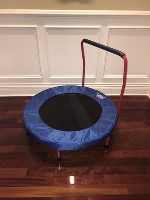 First Fitness Trampoline like-new condition! for Sale in Boonton, NJ