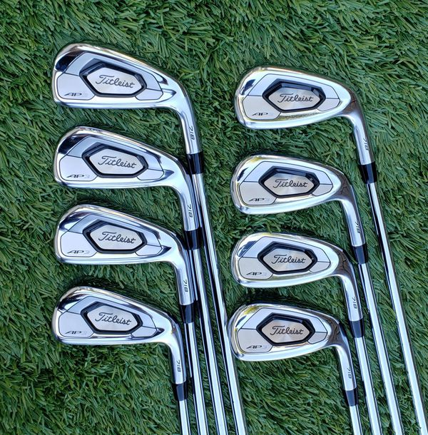 Titleist 718 AP3 Golf Iron Set 4-PW + AW KBS Tour 90 Regular , Steel, Used  once! SUPERB! for Sale in Chula Vista, CA - OfferUp