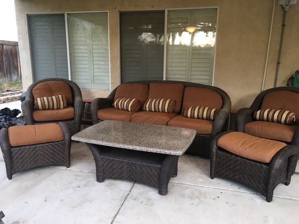 Outdoor Patio Furniture Set For In Ontario Ca Offerup