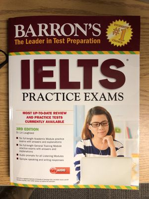 IELTS Practice Exams- Barron's for Sale in Houston, TX