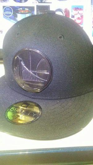 Black Golden State warriors cap for Sale in Salt Lake City, UT