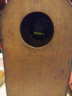 Nice hard wicker Quartz clock Thumbnail