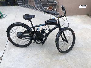 Photo Beach cruise bike with gas motor