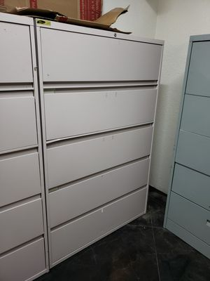 Large Filing Cabinets 80 Each Over 500 When New For Sale In Boise Id Offerup