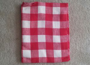 1950s Gingham Checked Tablecloth for Sale in Gaithersburg, MD