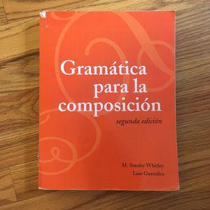 Gramática Para La Composición for Sale in Detroit, MI