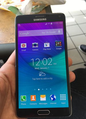 Samsung galaxy note #4 unlocked. for Sale in Washington, MD