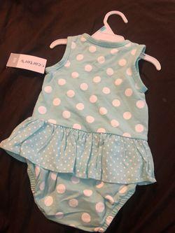 Carter's Baby Jumper BodySuit Thumbnail