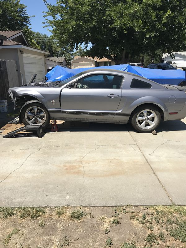 2007 Mustang Part Out Will Be Going To The Junkyard Soon