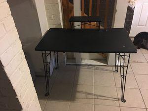 Black Computer Desk/TV Stand for Sale in Washington, DC