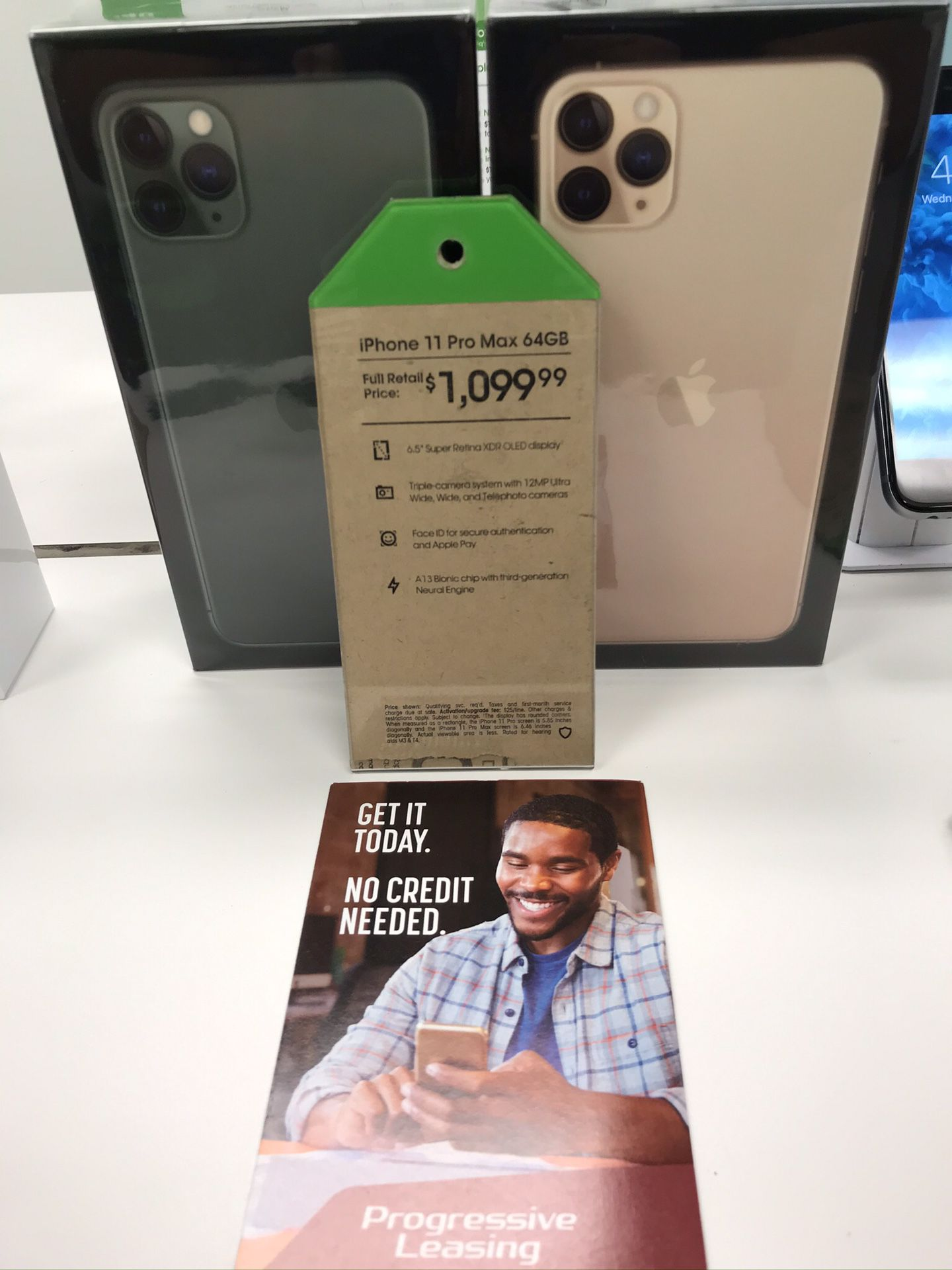 IPhones starting at $49.99 with Progressive Leasing