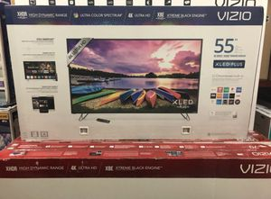 Vizio M55-E0 55 inch 4K UHD HDR XLED Smart TV 120hz 2160p *FREE DELIVERY* for Sale in Lakewood, WA