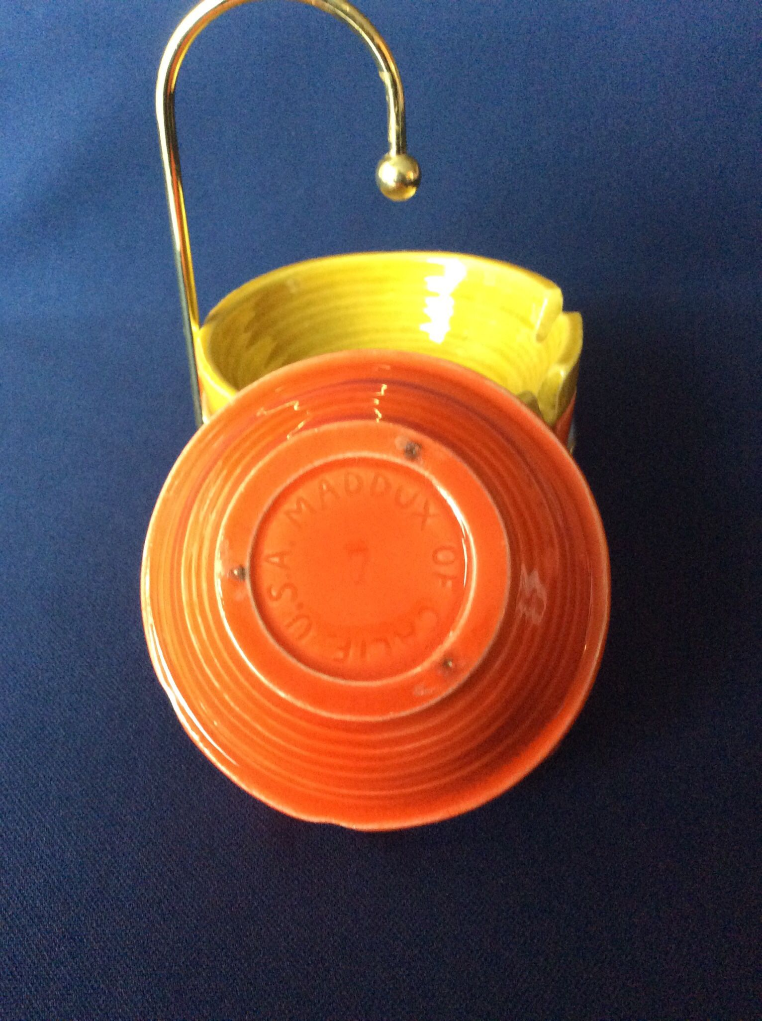 Art Deco Ashtrays With Stand
