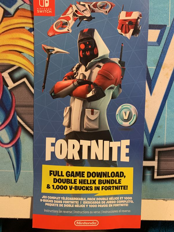Fortnite Double Helix skin code for Sale in Union City, CA - OfferUp