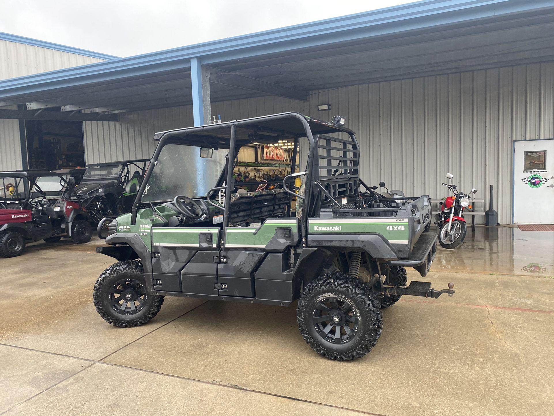 2015 Kawasaki Mule PRO FXT