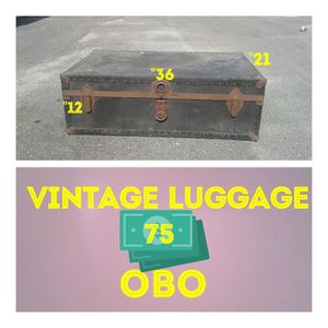 Vintage luggage for Sale in Houston, TX