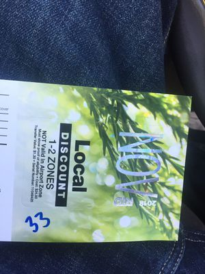 Nov bus pass for Sale in Commerce City, CO