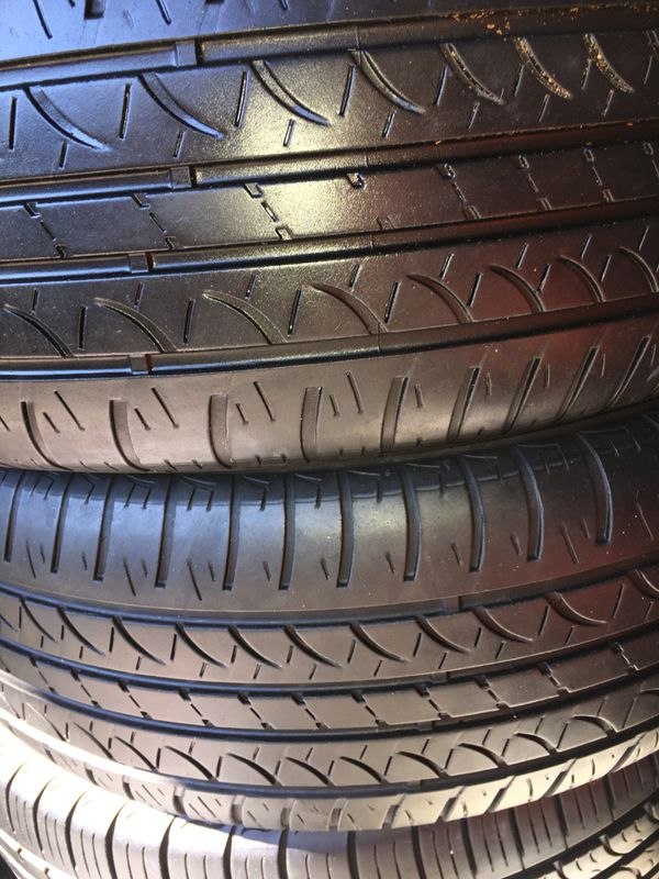 Used Tires San Jose >> 2 Used Tires 205 65 15 Hankook For Sale In San Jose Ca Offerup
