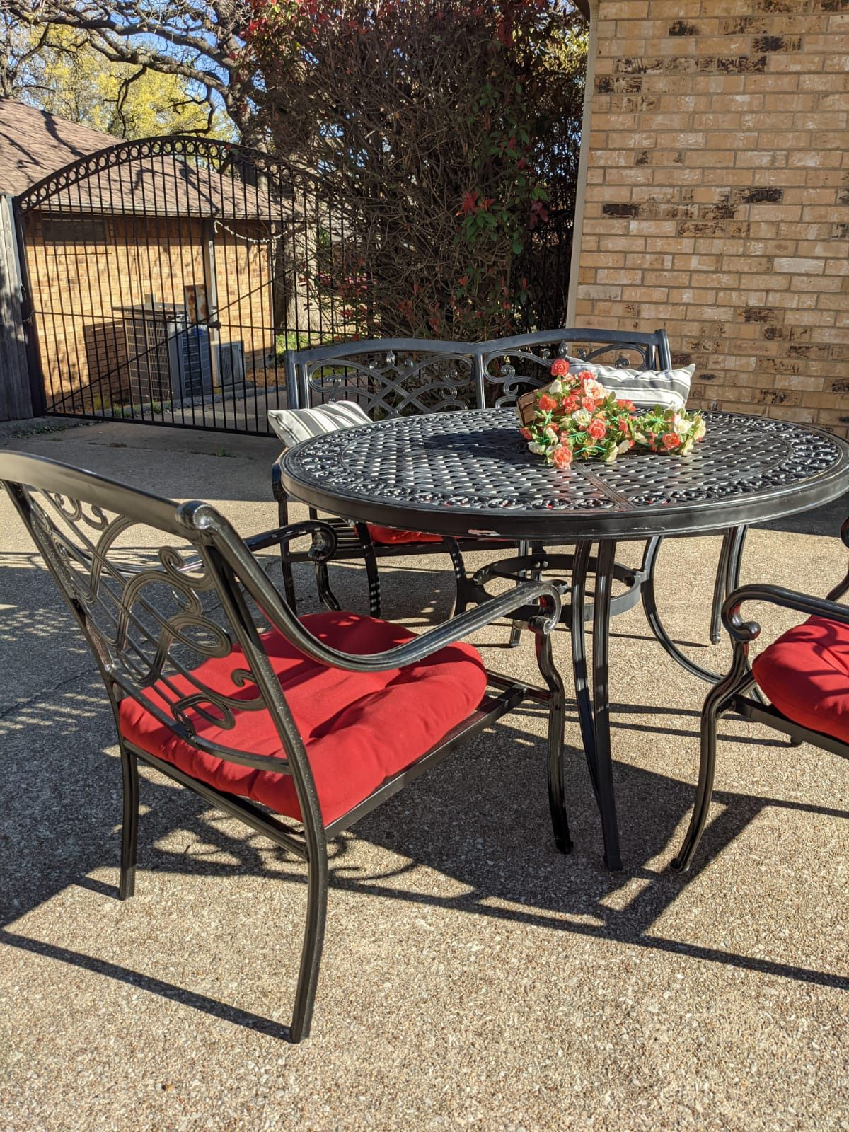 Outdoor Metal Set $550