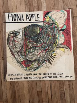 Fiona Apple - The Idler Wheel cardboard flat 24 inches by 24 inches Thumbnail