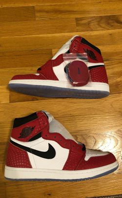 Jordan 1 Spider-Man with special box (deadstock) Thumbnail