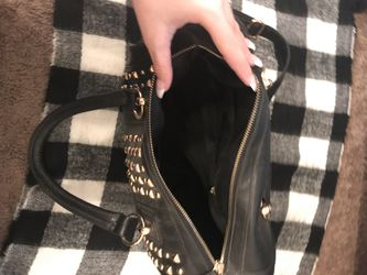 Wilson's leather studded purse Thumbnail