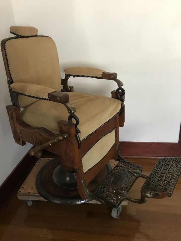 - Antique Koken Barber Chair (Antiques) In South Pasadena, CA - OfferUp