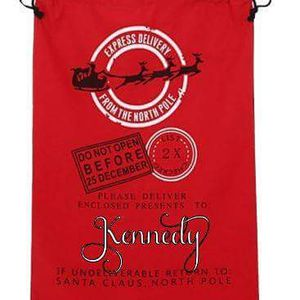 Personalized Santa sacks for sale  Claremore, OK