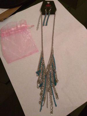 Beautiful Silver Blue Necklace For In Buckeye Az