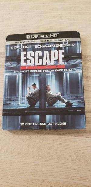 Escape 4k movie for Sale in Washington, DC