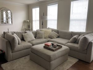 Off white sectional couch for Sale in Brambleton, VA