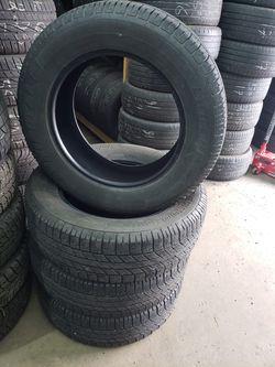 4 Tires 235/ 65/ R18. like new Thumbnail