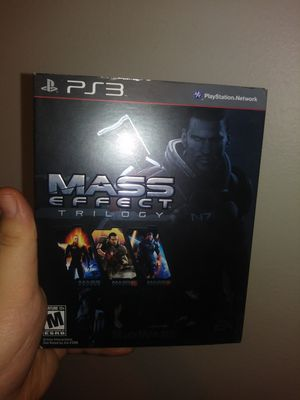 Mass effect 1,2,3 with dlc on ps3 for Sale in Bridgeton, MO