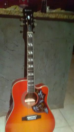 Epliphone humming bird pro electric account guitar perfect condition for Sale in Apopka, FL