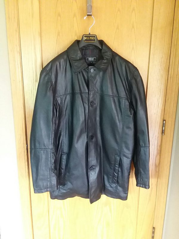 best authentic 3bd7a f5528 Missani le collezioni leather coat for Sale in Oshkosh, WI ...