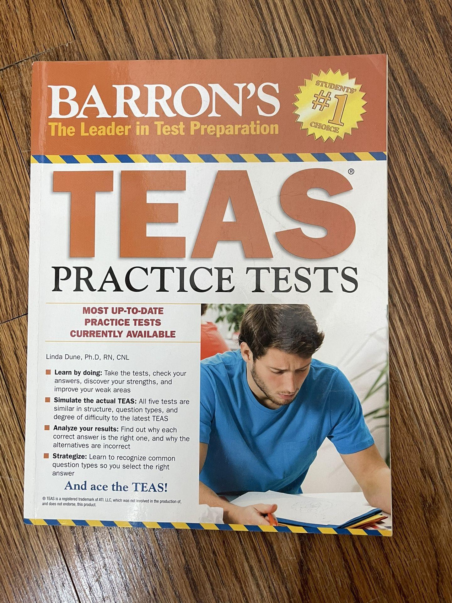 TEAS Practice Exam Textbook