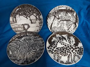 VINTAGE MID-CENTURY SAFARI DISHES for Sale in Frederick, MD