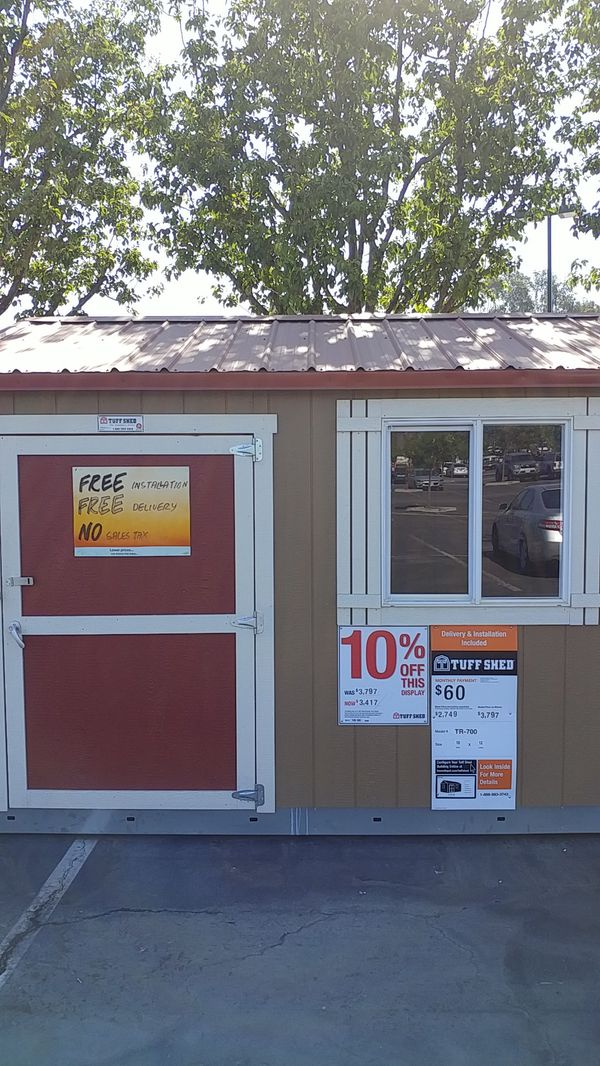 Tuff Shed Tr 700 10x12 Was 3797 Now 3417 For Sale In San