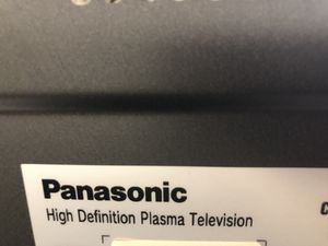 Panasonic high definition plasma tv for Sale in Springfield, VA