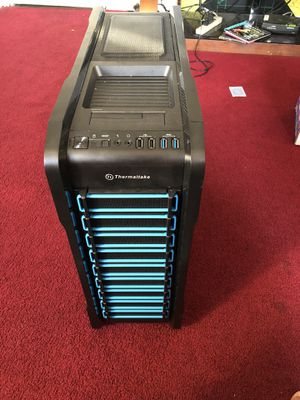 Thermal intake Case and keyboard (JUST THE TOWER) for Sale in Milford, CT