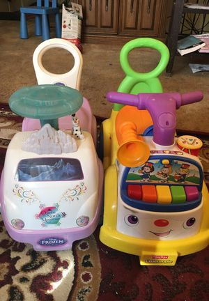 Toy cars for kids (2 for $40) for Sale in Silver Spring, MD