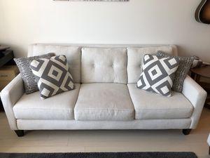 Jordan's Sugarshack Glacier Sofa + Loveseat for Sale in Boston, MA